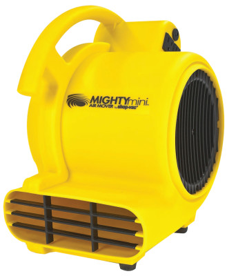 Mini Air Mover, 1.5 A, 120 V, 10 ft Cord