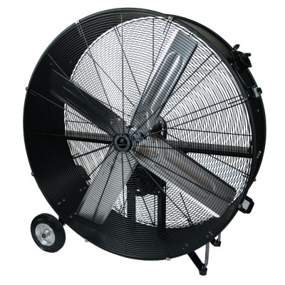 Commercial Belt Drive Portable Blower, 4 Blades, 42 in, 13,500 rpm