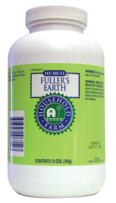 Fullers Earth Powder, 12 oz Jar