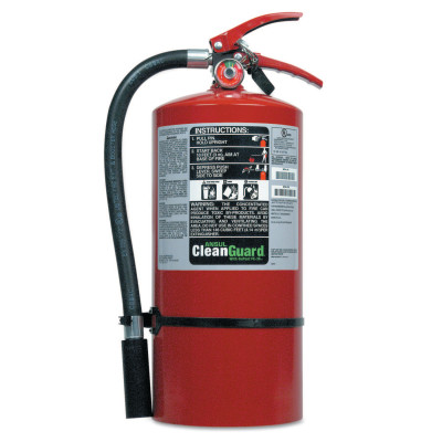 CLEANGUARD Clean Agent Hand Portable Extinguisher, 9 lb