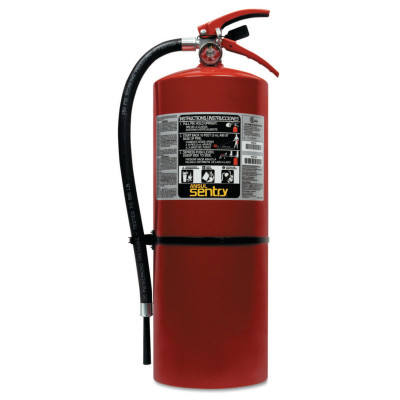 SENTRY Dry Chemical Hand Portable Extinguishers, Class ABC Fires, 20 lb Cap. Wt.