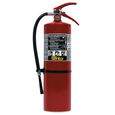 SENTRY Dry Chemical Hand Portable Extinguisher, Class ABC TAL, 10lb Cap. Wt.
