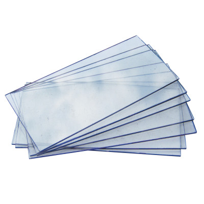 Cover Plate, Shatterproof, 2 in x 4 1/4 in, Polycarbonate