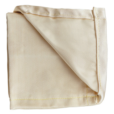 High Temperature Welding Blankets, 6 ft X 8 ft, Silica, Tan