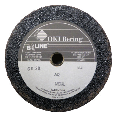 "Resin Bonded Abrasives Without Safety Back, 6"", 5/8-11 Arbor, Aluminum Oxide"