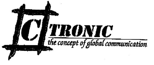C TRONIC the concept of global communication