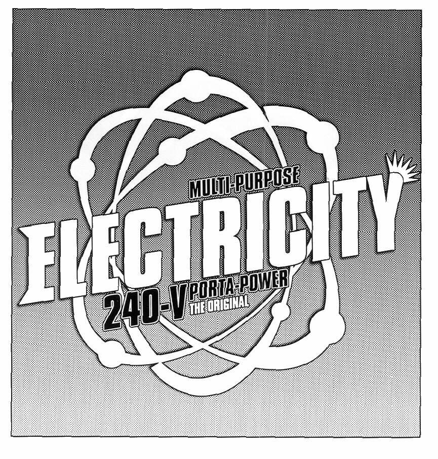MULTI-PURPOSE ELECTRICITY 240-V PORTA POWER THE ORIGINAL