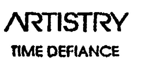 ARTISTRY TIME DEFIANCE