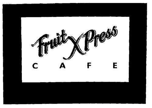 Fruit XPress CAFE