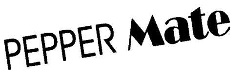 PEPPER Mate