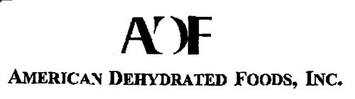 ADF AMERICAN DEHYDRATED FOODS, INC.