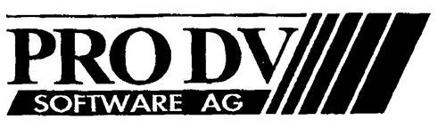 PRO DV SOFTWARE AG