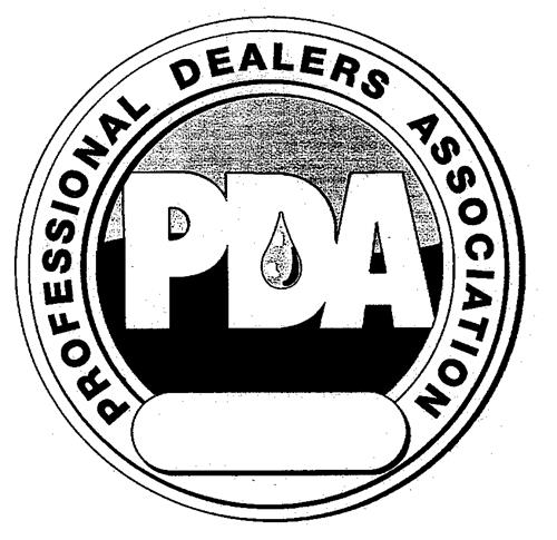 PDA PROFESSIONAL DEALERS ASSOCIATION