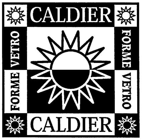 CALDIER FORME VETRO