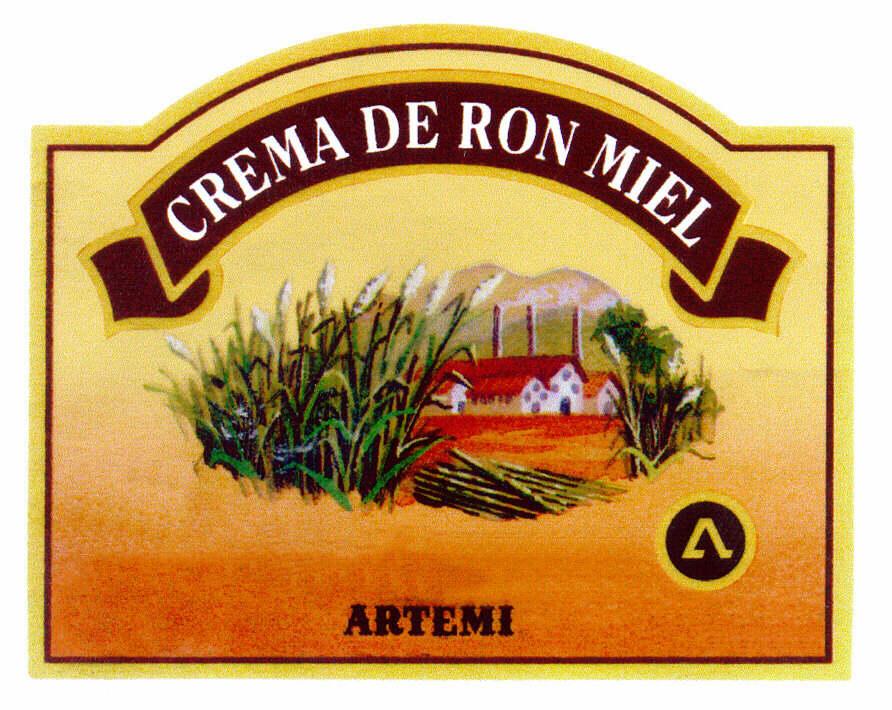 CREMA DE RON MIEL ARTEMI