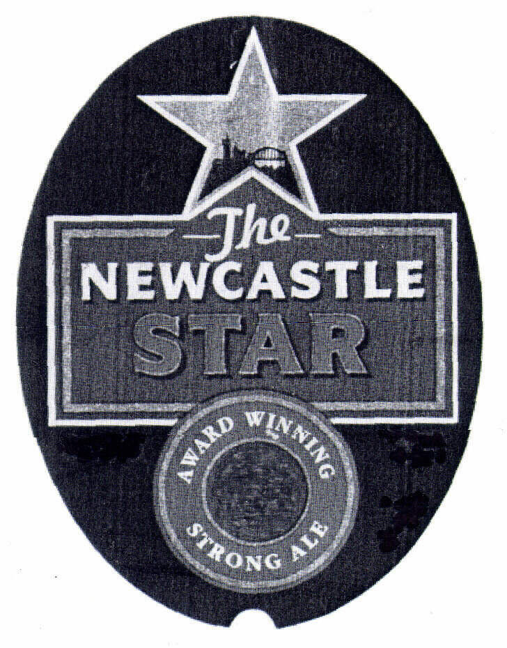 The NEWCASTLE STAR award winning strong ale