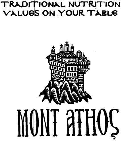 TRADITIONAL NUTRITION VALUES ON YOUR TABLE MONT ATHOS