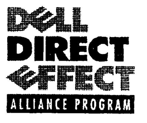 DELL DIRECT EFFECT ALLIANCE PROGRAM