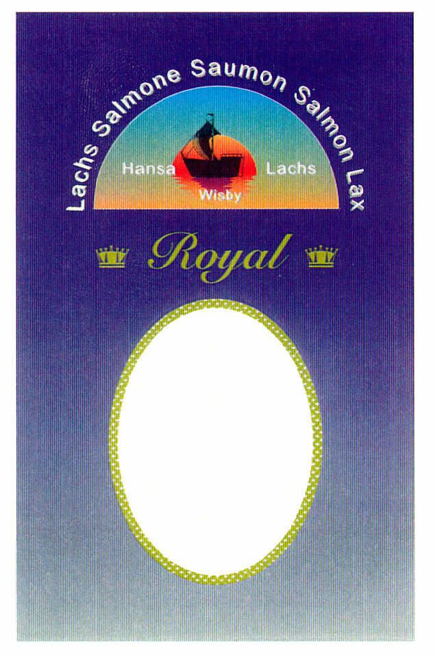 Royal Lachs Salmone Saumon Salmon Lax Hansa Lachs Wisby