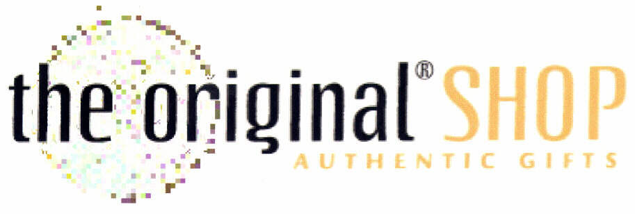 the original SHOP AUTHENTIC GIFTS