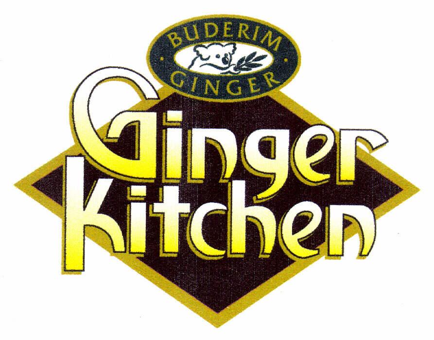 Ginger Kitchen. BUDERIM GINGER