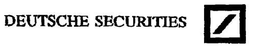 DEUTSCHE SECURITIES