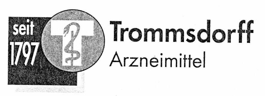Trommsdorff Arzneimittel seit 1797 T