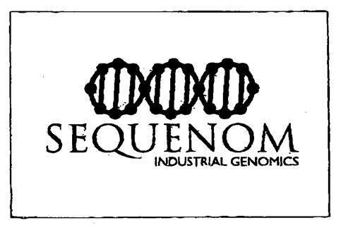 SEQUENOM INDUSTRIAL GENOMICS