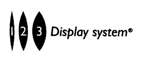 1 2 3 Display system