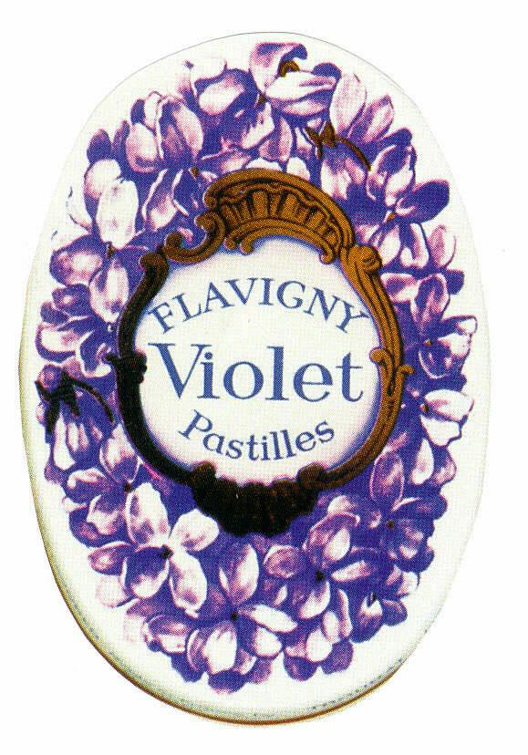 FLAVIGNY Violet Pastilles