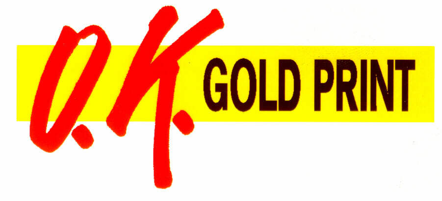 O.K. GOLD PRINT