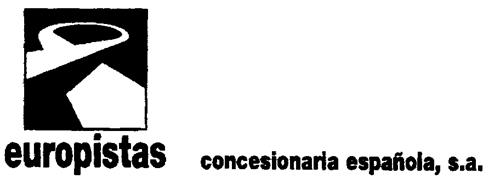 europistas concesionaria española, s.a.