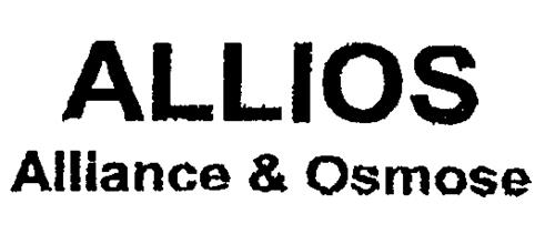 ALLIOS Alliance & Osmose