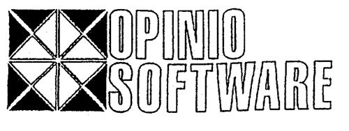 OPINIO SOFTWARE