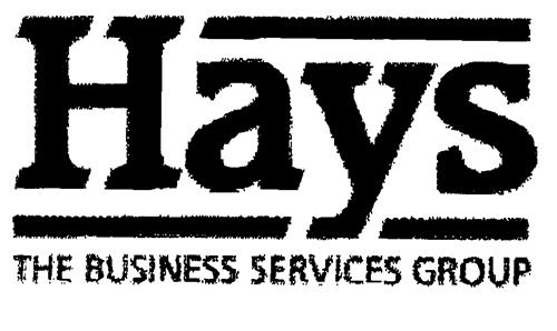 Hays THE BUSINESS SERVICES GROUP