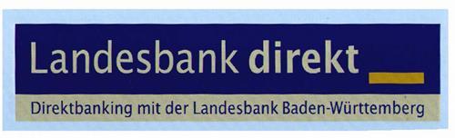 Landesbank direkt Direktbanking mit der Landesbank Baden-Württemberg