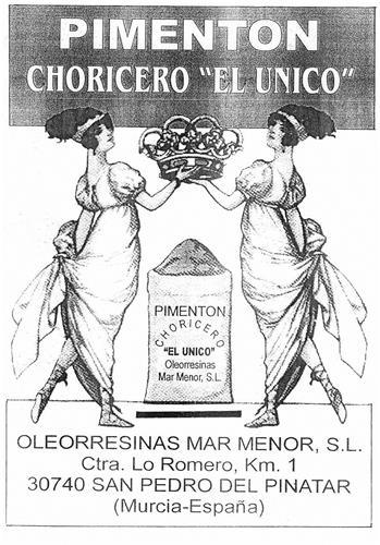 "PIMENTON CHORICERO""EL UNICO"""