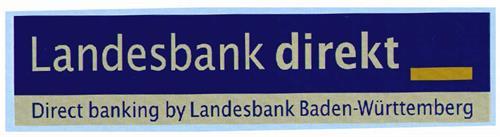 Landesbank direkt Direct banking by Landesbank Baden-Württemberg