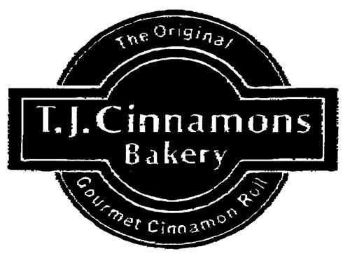 T.J. Cinnamons Bakery The Original Gourmet Cinnamon Roll