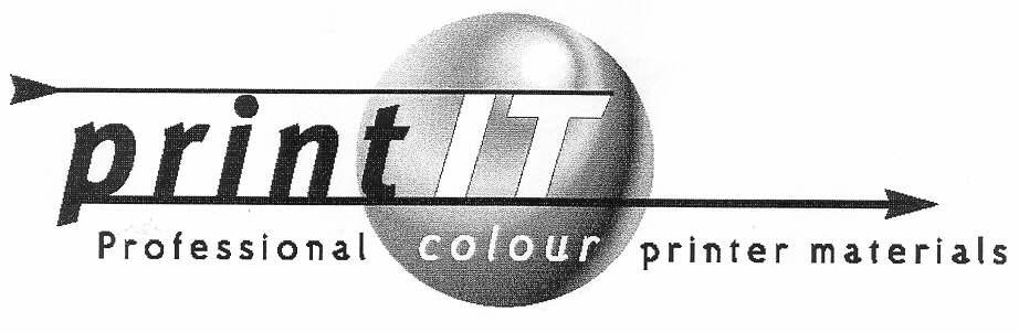 printIT Professional colour printer materials