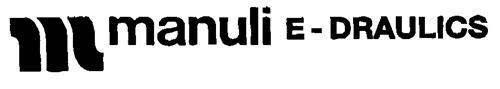 m manuali E-DRAULICS