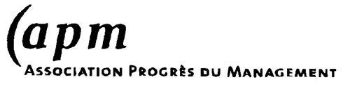 apm ASSOCIATION PROGRÈS DU MANAGEMENT