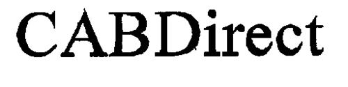 CABDirect