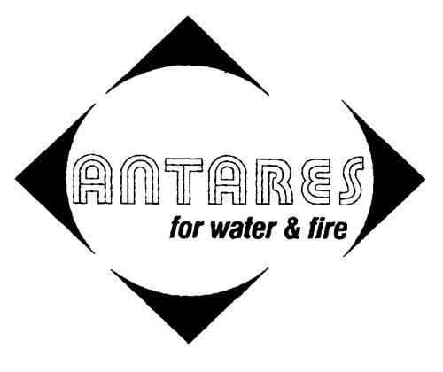ANTARES for water & fire