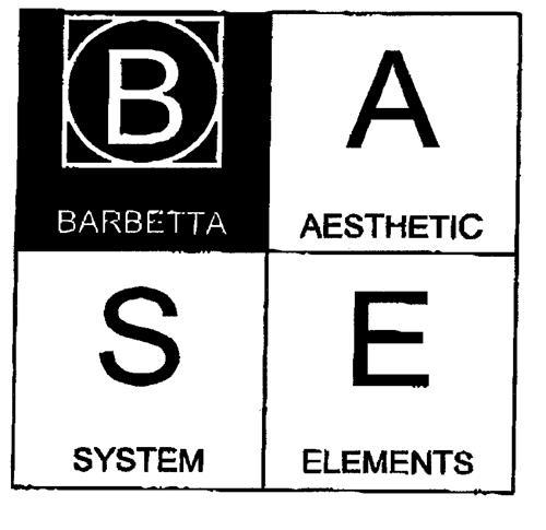BASE BARBETTA AESTHETIC SYSTEM ELEMENTS
