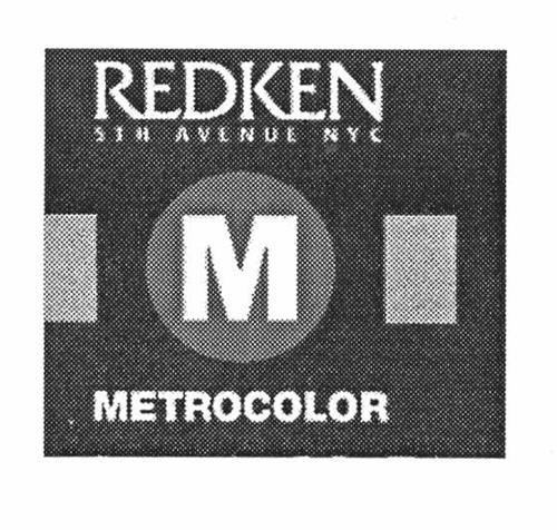 M METROCOLOR REDKEN 5TH AVENUE NYC