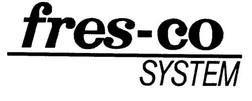 fres-co SYSTEM