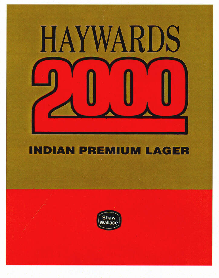 HAYWARDS 2000 INDIAN PREMIUM LAGER Shaw Wallace