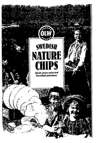 OLW SWEDISH NATURE CHIPS