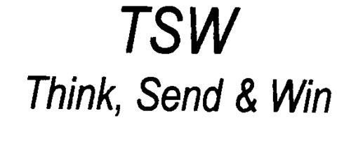 TSW Think, Send & Win